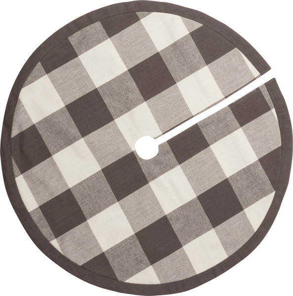 39782 Med Tree Skirt - Buffalo Check - Set Of 4 By Primitives by Kathy