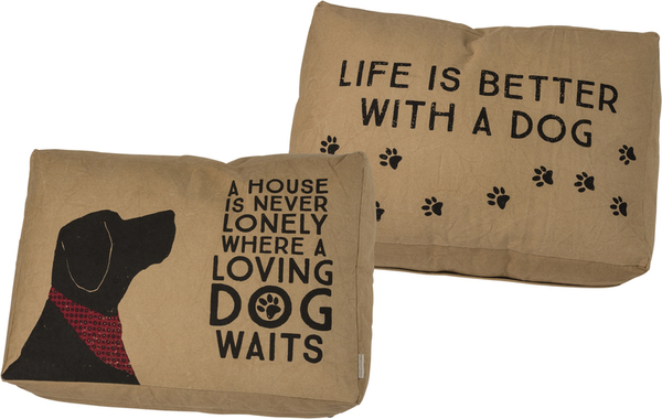 39827 Large Dog Bed - Loving Dog By Primitives by Kathy