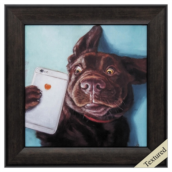 Dog Selfie Wall Decor 7711 By Propac Images
