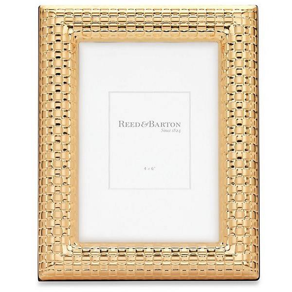 R&B Watchband Gold Frame 4X6 4146