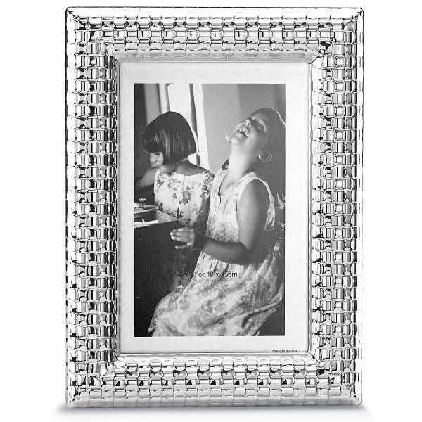 R&B Watchband Silver Frame 4X6 866458