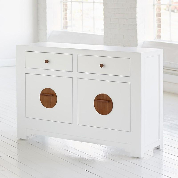 SL301 Red Egg Shanghai Loft Filing Console Cabinet - Double