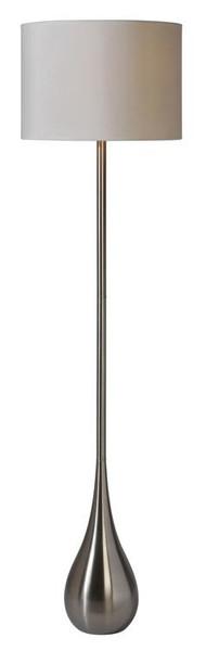 Ren-Wil Alba 59-Inch Floor Lamp Stainless Steel LPF527