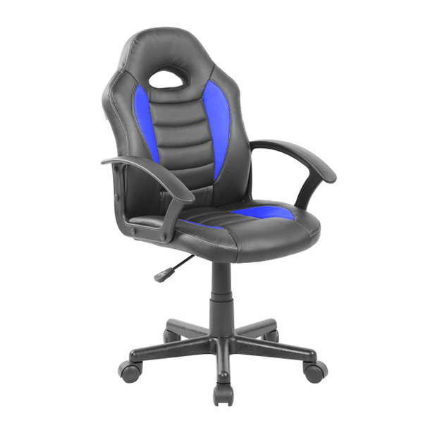 Techni Mobili Kid'S Gaming & Student Racer Chair W/ Wheels RTA-KS40-BL