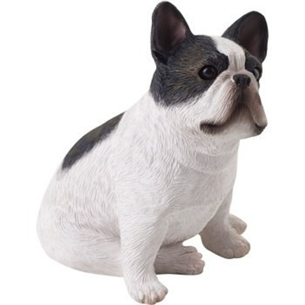 Sandicast Small Size Brindle Sitting French Bulldog Sculpture - SS02301