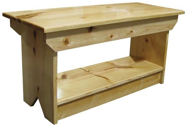 45 Sawdust Wood Garden Bench