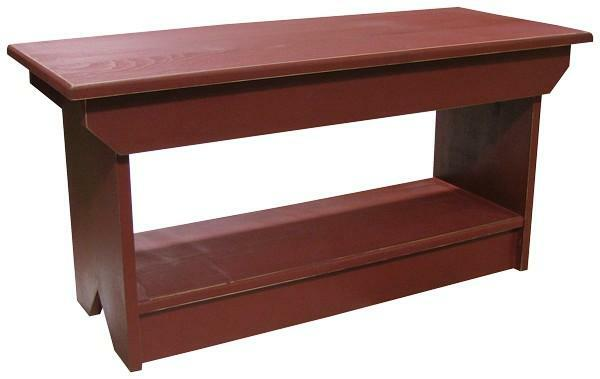 62 Sawdust Coffee Table Bench