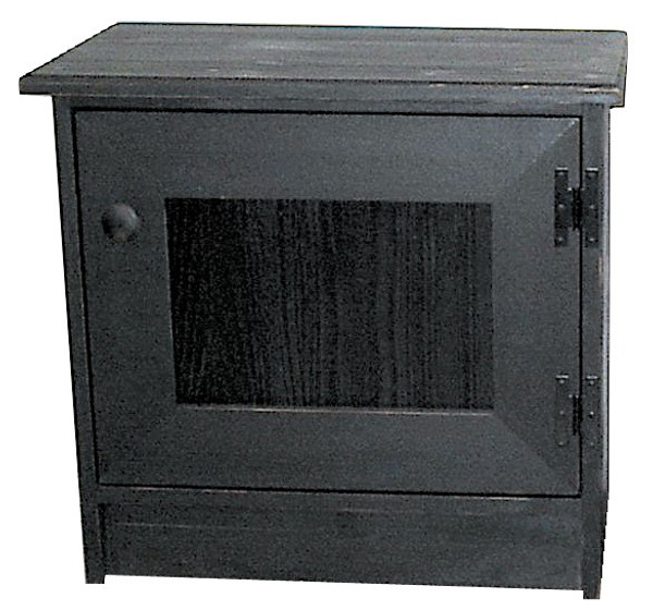 65 Sawdust End Table Cabinet