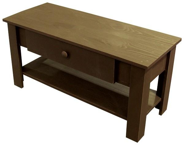 LLC02 Sawdust Coffee Table With Drawer