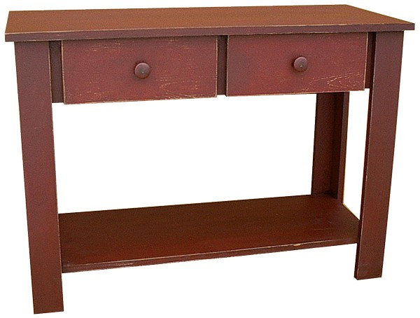 LLS03 Sawdust Sofa Table With Drawer