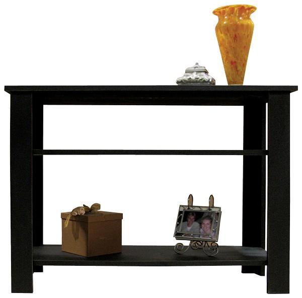 LLSH7 Sawdust Sofa Table With Shelves