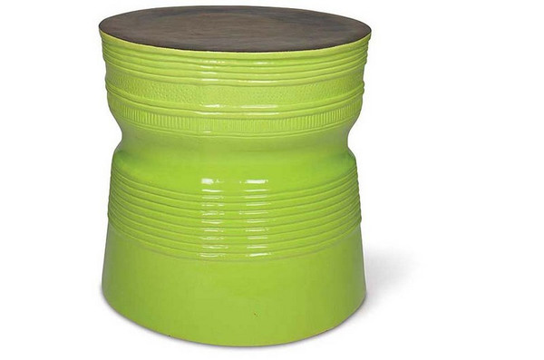 308FT225P2MAG Ancaris Ring Accent Table - Apple Green