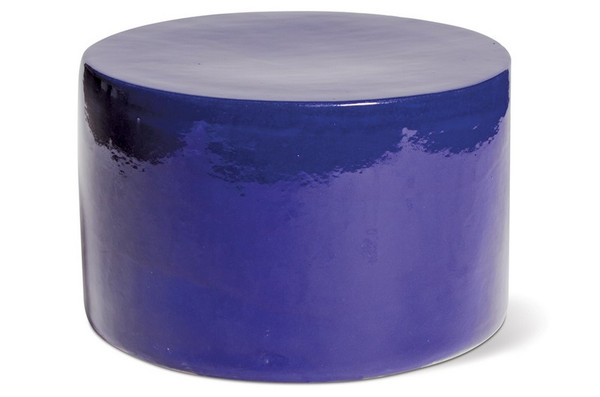 308FT276P2NB Baby Caroness Accent Table - Navy Blue