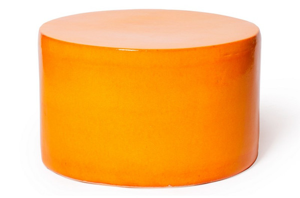 308FT276P2O Baby Caroness Orange Accent Table