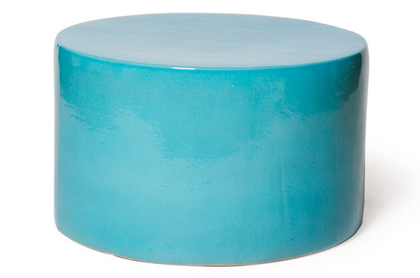 308FT276P2TB Baby Caroness Accent Table - Turquoise, Blue