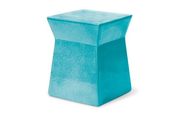 308FT352P2TB Turquoise - Blue Ashlar Stool