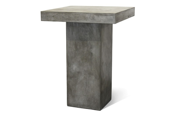 501FT023P2G Perpetual Provence Slate Gray Bar Table