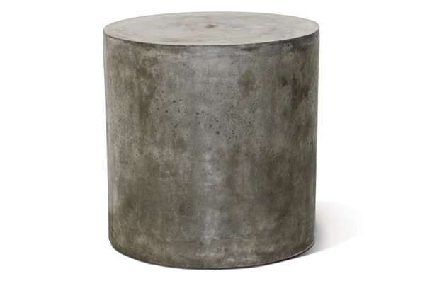 501FT025P2G Perpetual Bill Slate Gray Accent Table