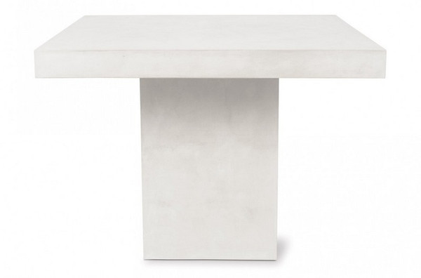501FT046P2W Perpetual Phil Ivory White Counter Table
