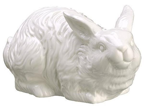 "4"" Ceramic Bunny White AA3630-WH"