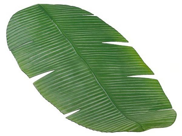 "30""W X 16""L Banana Leaf TableRunnerGreen 12 Pieces AA8802-GR"