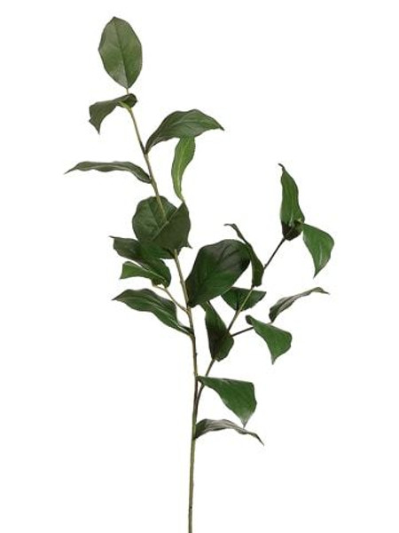 "36"" Lemon Leaf Spray Green 12 Pieces PSL009-GR"