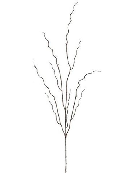 "46.5"" Plastic BranchBrown 12 Pieces QST249-BR"