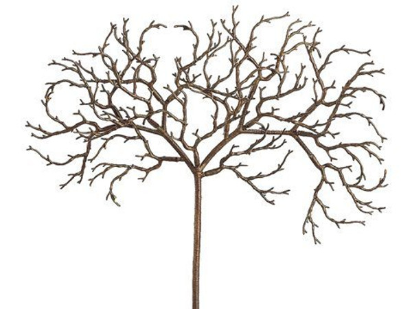 "18"" African Twig Spray  Brown 12 Pieces QST440-BR"