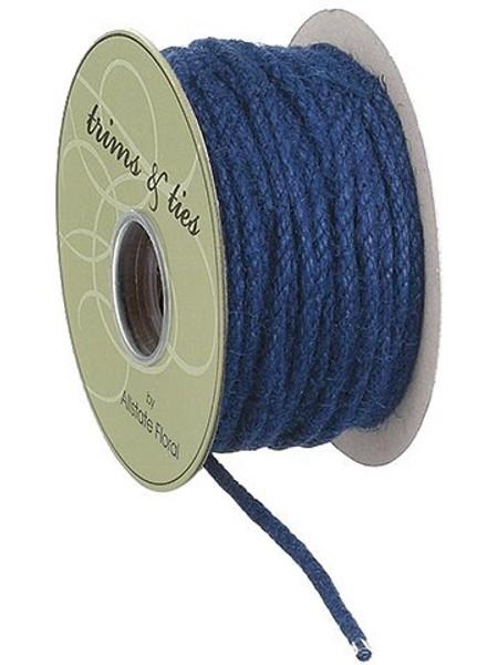 """0.12""""W X 10Yd Rope Blue 6 Pieces RR3031-BL"""