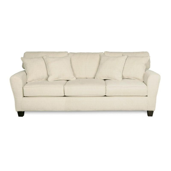 1660M-00-SFB334-20612 Sofab Madison Dynasty Cream Sofa With Accent Pillows