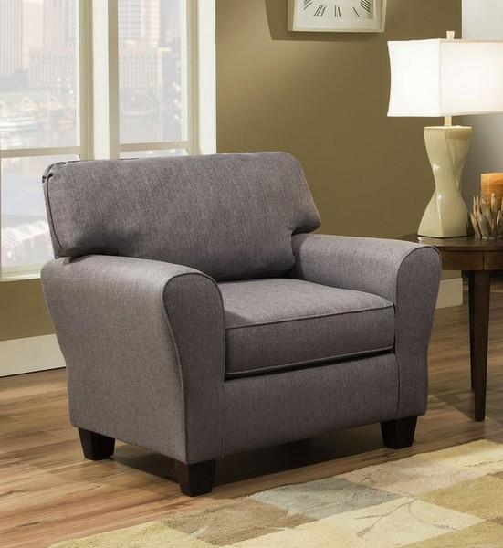 1680S-20-SFB110-24092 Sofab Brooke II Heritage Grey Chair