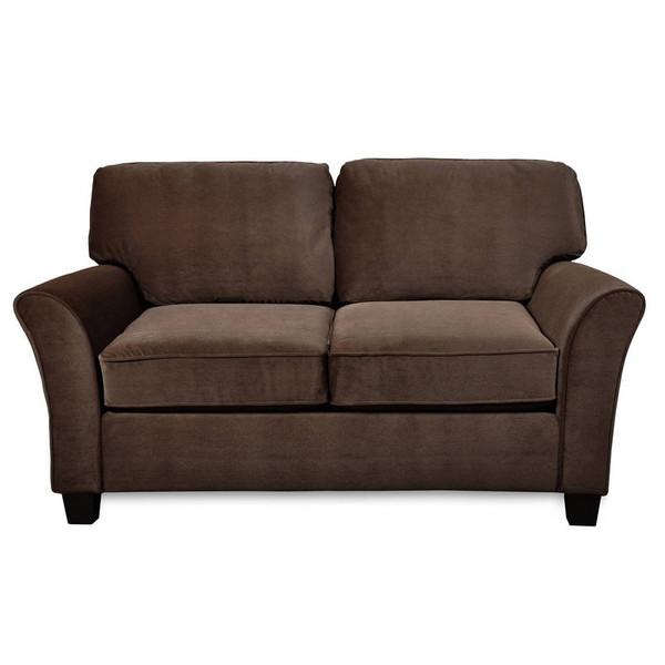 1698S-10-SFB222-27418 Sofab Muse II Caress Chocolate Love Seat
