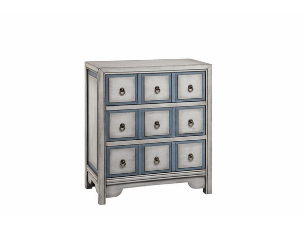 Stein World Natural Adley Accent Chest With Three Drawers 13167