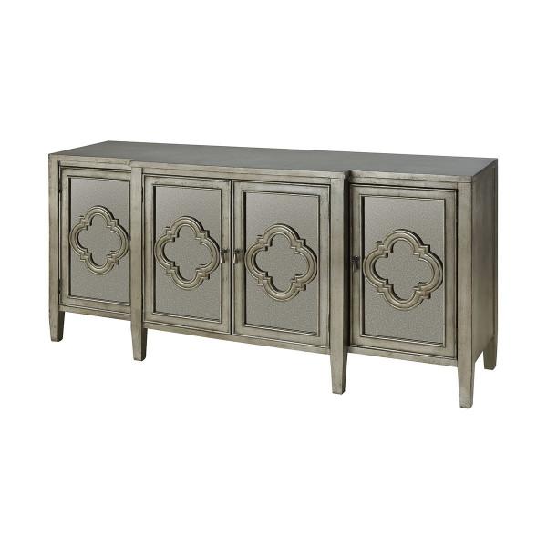 Stein World 4-Door Cabinet -With Antique Mirror 16781