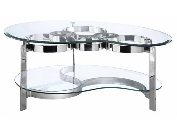 Stein World Mercury Freeform Cocktail Table 410-019