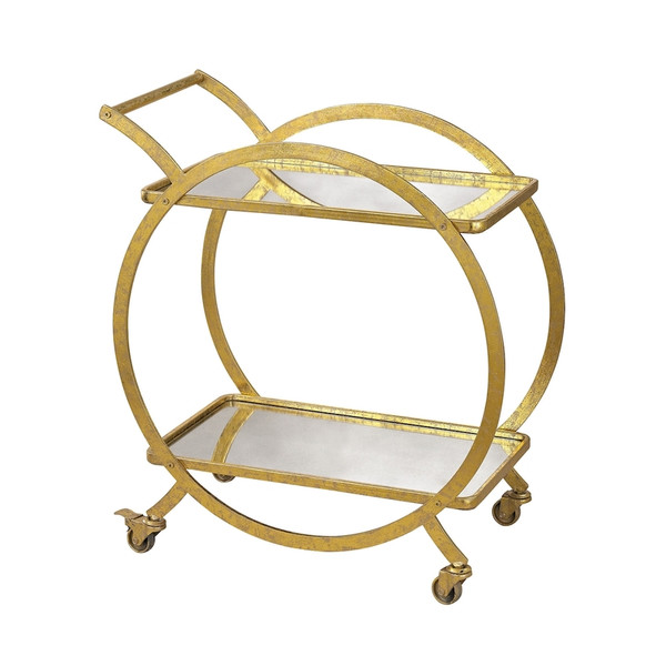 Ring Bar Cart 351-10212 BY Sterling