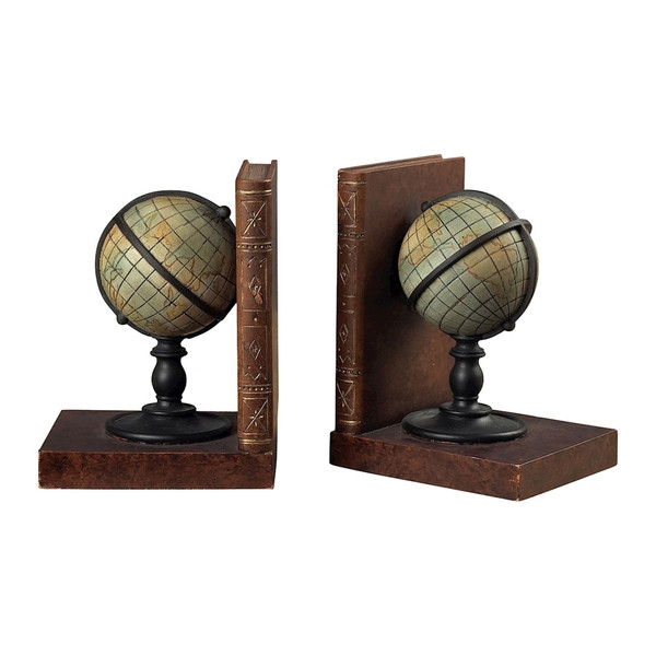 Atlas Book Ends 93-9224 BY Sterling