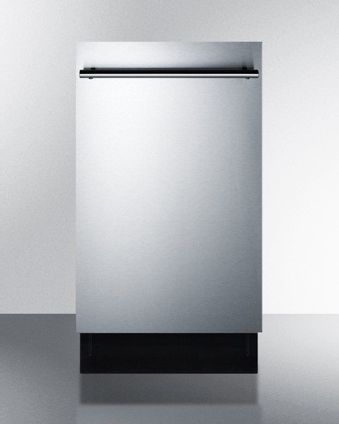 """DW18SS2 18"""" Wide Energy Star Qualified Dishwasher By Summit Appliances"""