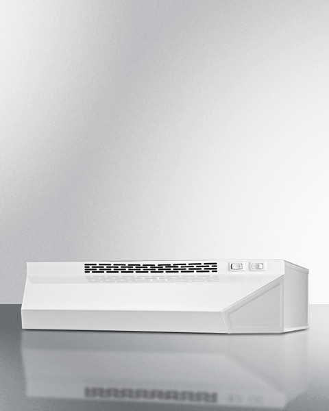 """H1618B 18"""" Wide Convertible Range Hood For Ducted Or Ductless"""