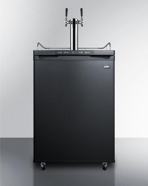 SBC582BNK Freestanding Residential Beer Dispenser By Summit Appliances