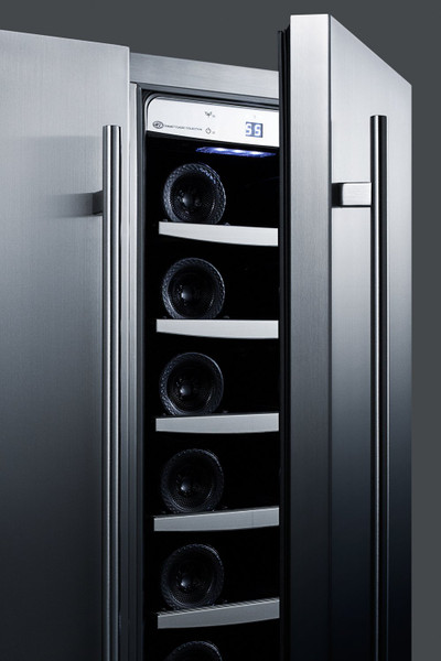 SWBV24SS Dual Zone Wine/Craft Beer Center For Built-In Or Freestanding Use