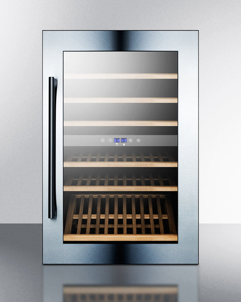 VC60D 51 Bottle Fully Integrated Dual Zone Wine Cellar