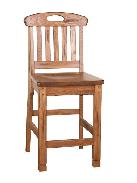 Sunny Designs Sedona Slatback Barstool 1820RO