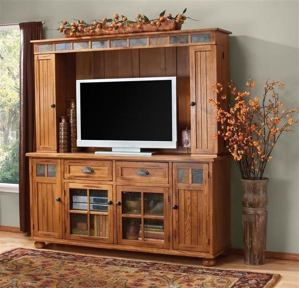 Sunny Designs Sedona Tv Console Only 3322RO-TC