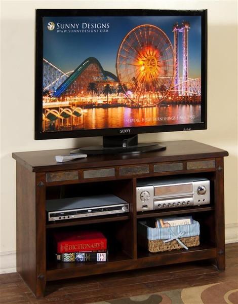 Sunny Designs Santa Fe Tv Console 3436DC-42R