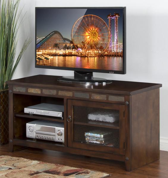 Sunny Designs Santa Fe Tv Console 3436DC-52R