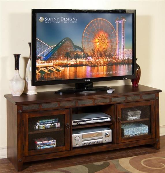 Sunny Designs Santa Fe Tv Console 3436DC-62R