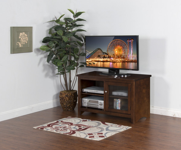 Sunny Designs Cappuccino Tv Console 3447CA-42R
