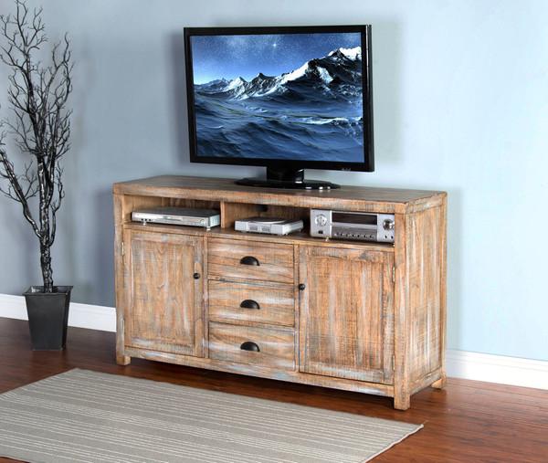 """Sunny Designs Durango 60"""" Tv Console 3563WB-60"""