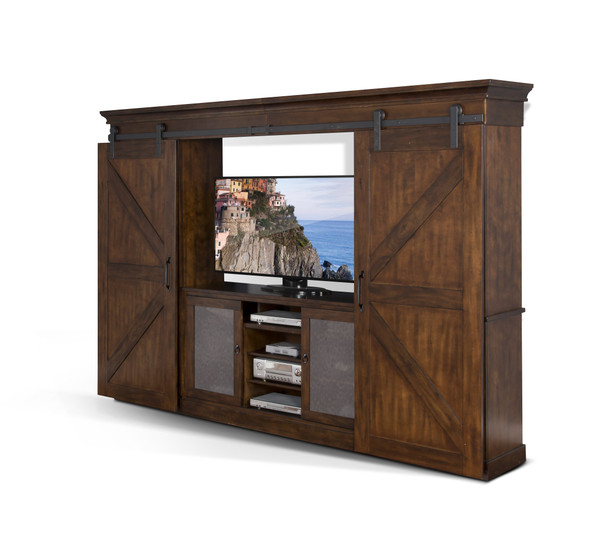 Sunny Designs Santa Fe Entertainment Wall 3565DC